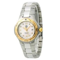 TAG Heuer Kirium Professional WL1350 Women's Quartz Watch Silver Dial