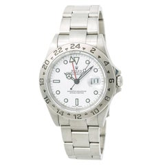 Rolex Explorer II 16570 Men's Automatic Watch White Dial Stainless Steel