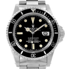 Rolex Submariner Vintage Stainless Steel Men's Watch 1680
