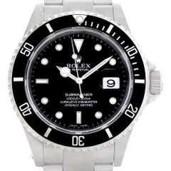 Rolex Submariner Stainless Steel Men's Watch 16610 Box