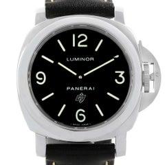 Panerai Luminor Base Logo Steel Men's Watch PAM000 PAM00000