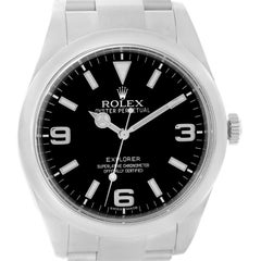 Rolex Explorer I Stainless Steel Automatic Men's Watch 214270
