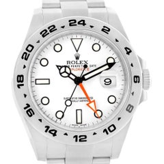 Rolex Explorer II 42 White Dial Automatic Steel Men's Watch 216570