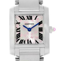 Cartier Tank Francaise Ladies Steel Limited Edition Watch W51031Q3