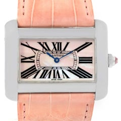 Cartier Tank Divan XL Limited Edition MOP Dial Steel Watch W6301455