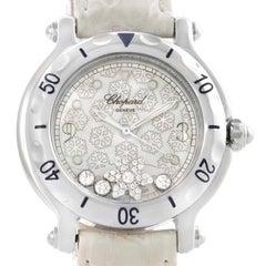 Chopard Happy Sport Snowflake Floating Diamond Watch 278949-3001