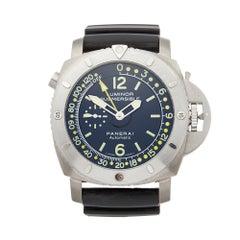 2011 Panerai Luminor Titanium PAM00307 Wristwatch