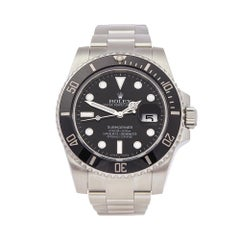 2016 Rolex Submariner Stainless Steel 116610LN Wristwatch