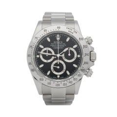 2015 Rolex Daytona Stainless Steel 116520 Wristwatch