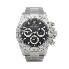 2015 Rolex Daytona Stainless Steel 116520 Wristwatch