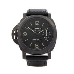 2010 Panerai Luminor Left Handed Stainless Steel PAM00026 Wristwatch