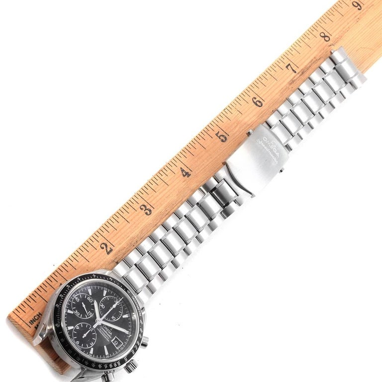 Omega Speedmaster Chronograph Automatic Men's Watch 3210.50.00 For Sale 7