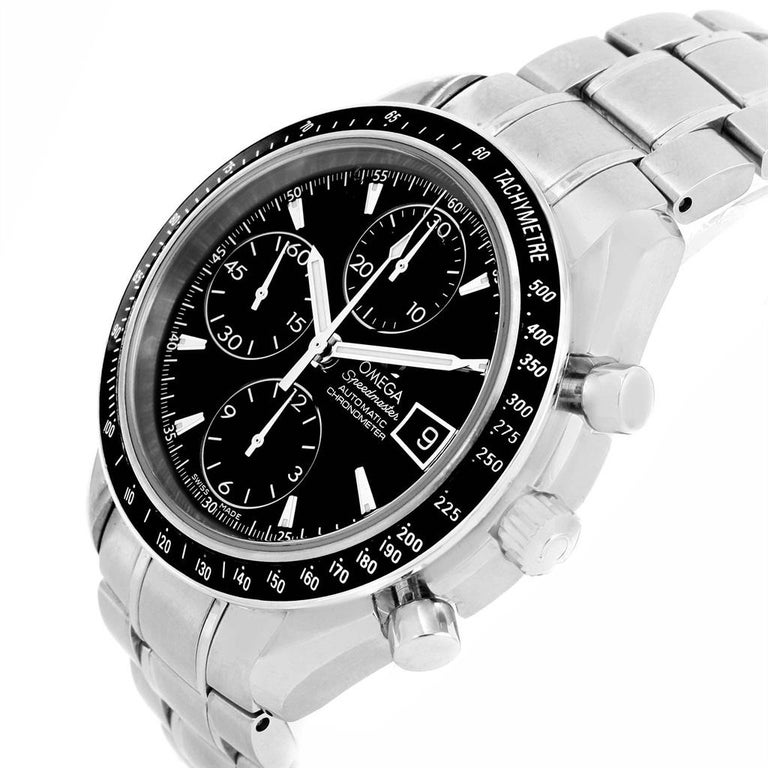 Omega Speedmaster Chronograph Automatic Men's Watch 3210.50.00 For Sale 6