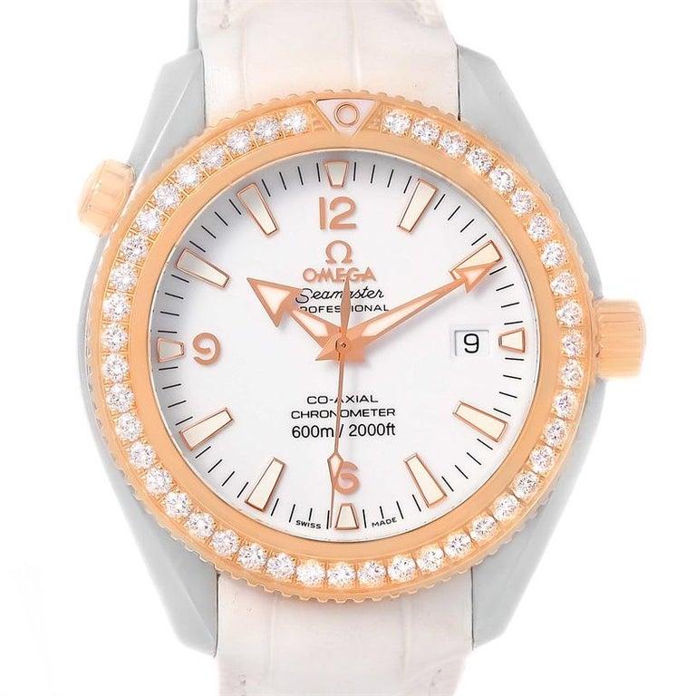 Omega Seamaster Planet Ocean Diamant Uhr 222 28 42 20 04 001 Im