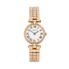 1980s Cartier Ronde Yellow Gold 6602 Wristwatch