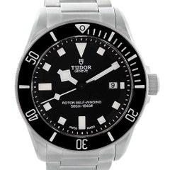 Tudor Pelagos Titanium Steel Black Dial Men's Watch 25500TN Box Card