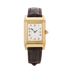 1999 Jaeger-LeCoultre Reverso Yellow Gold 266.144 Wristwatch