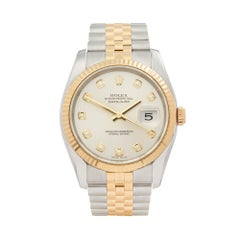 2005 Rolex Datejust Steel & Yellow Gold 116233 Wristwatch