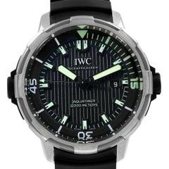 IWC Aquatimer Automatic 2000 Titanium Men's Watch IW358002 Unworn