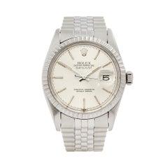 1981 Rolex Datejust Stainless Steel 16030 Wristwatch