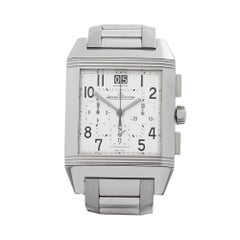 2008 Jaeger-LeCoultre Reverso Squadra Chronograph Automatic Stainless Steel