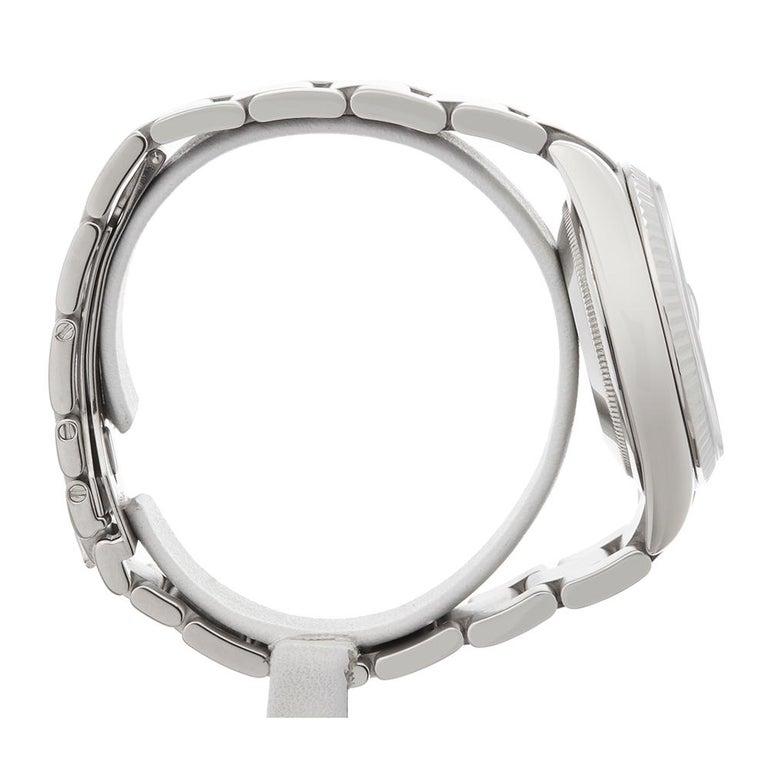 Men's 2000 Rolex Day-Date White Gold 118239 Wristwatch