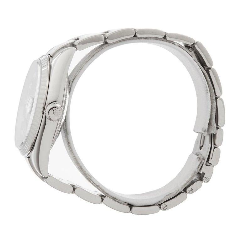 2000 Rolex Day-Date White Gold 118239 Wristwatch In Excellent Condition In Bishops Stortford, Hertfordshire