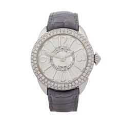 2018 Backes & Strauss Piccadilly Diamond Stainless Steel Wristwatch