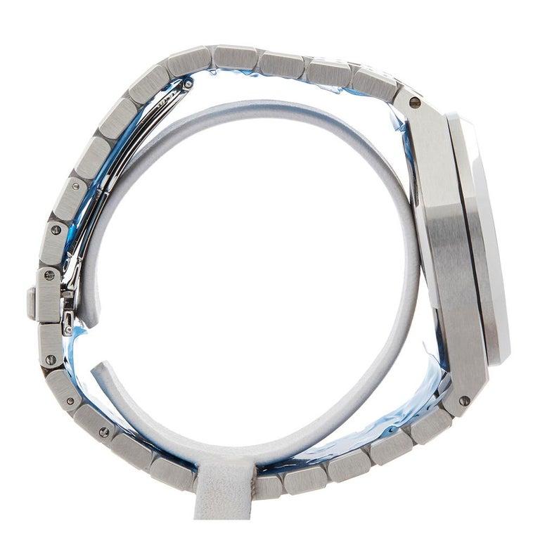2000s Audemars Piguet Royal Oak Chronograph Stainless Steel Wristwatch For Sale 1