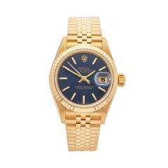 1999 Rolex Datejust Yellow Gold 79178 Wristwatch