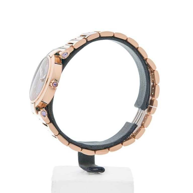 Contemporary 2017 Chopard Imperiale Rose Gold 384238-5006 Wristwatch  *  *Complete with: Box, Manuals & Guarantee dated 1st April 2017  *Case Size: 28mm  *Strap: 18K Rose Gold  *Age: 2017  *Strap length: Adjustable up to 17cm. Please note we can