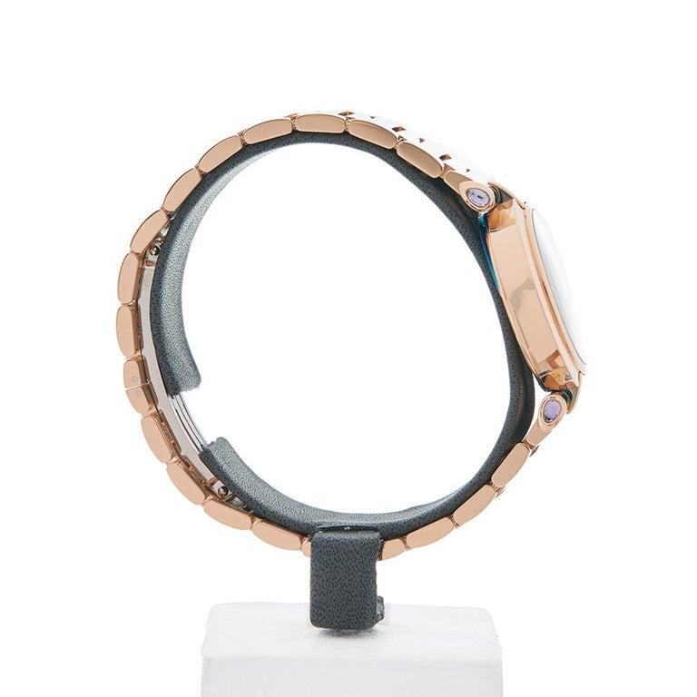 2017 Chopard Imperiale Rose Gold 384238-5006 Wristwatch In Excellent Condition For Sale In Bishops Stortford, Hertfordshire