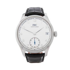 2012 IWC Portuguese Stainless Steel IW510203 Wristwatch