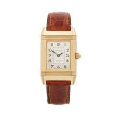 2000's Jaeger-LeCoultre Reverso Yellow Gold 266.1.44 Wristwatch