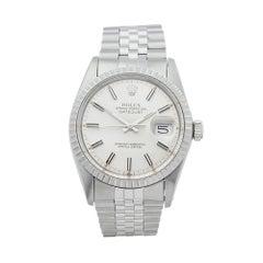 1980's Rolex Datejust Stainless Steel 16030 Wristwatch