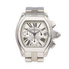 2010's Cartier Roadster XL Stainless Steel 2618 Wristwatch