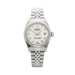 2002 Rolex Datejust Steel & White Gold 79174 Wristwatch