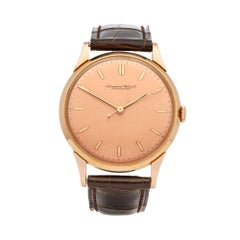 1949 IWC Vintage Cal.89 Rose Gold Wristwatch