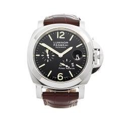2011 Panerai Luminor Power Reserve Stainless Steel PAM00090 Wristwatch