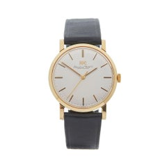 1973 IWC Vintage Cal.403 Yellow Gold Wristwatch