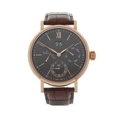 2017 IWC Portofino Eight Days Rose Gold IW516203 Wristwatch