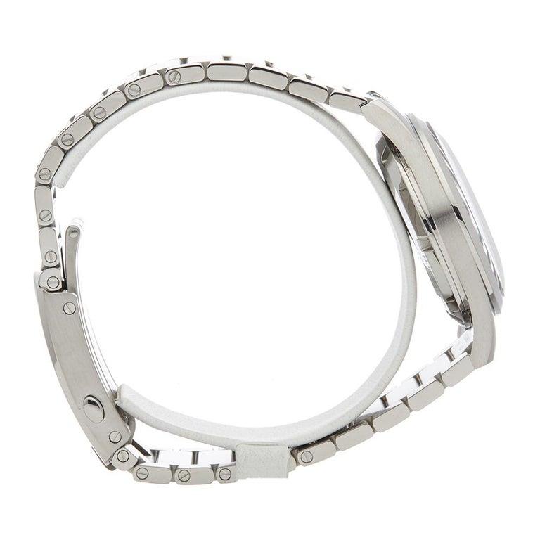 Men's 2017 Omega Railmaster Stainless Steel 22010382001002 Wristwatch For Sale
