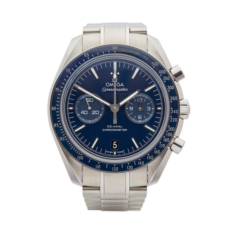 2014 Omega Speedmaster Titanium 31190445103001 Wristwatch For Sale