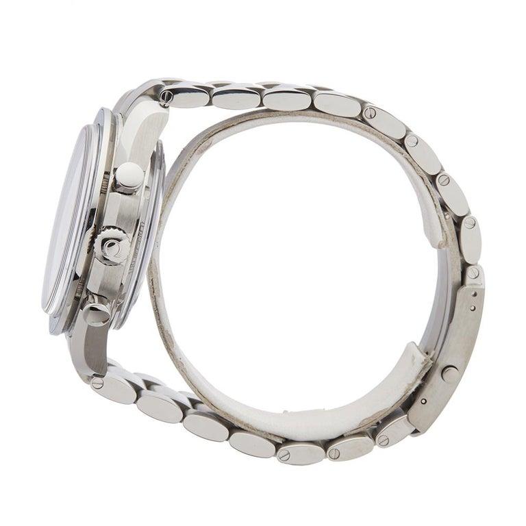 2014 Omega Speedmaster Titanium 31190445103001 Wristwatch In Excellent Condition For Sale In Bishops Stortford, Hertfordshire