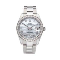 2011 Rolex Datejust 31 Stainless Steel 178384 Wristwatch