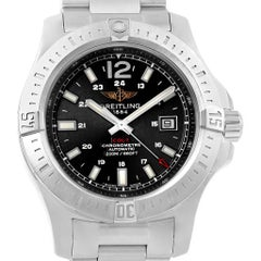 Breitling Colt Black Dial Automatic Steel Men's Watch A17388 Box Card