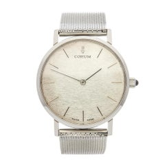 1970s Corum Vintage Stainless Steel Wristwatch
