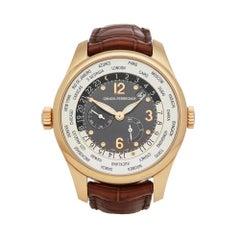 2009 Girard Perregaux WW.TC Rose Gold ORNO224 Wristwatch