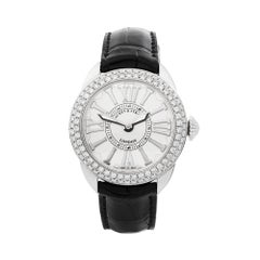 2018 Backes & Strauss Piccadilly Diamond Stainless Steel Wristwatch