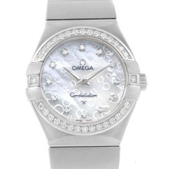 Omega Constellation Diamonds Ladies Watch 123.15.27.60.55.005 Unworn